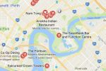 About Siggy's Perth Accommodation short term lets Perth WA - map showing Maylands restaurants