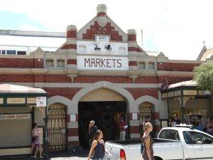 The Iconic Fremantle Markets are a short walk from Numero Siete de Bannister Fremantle