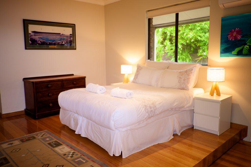 Swanbourne Colonial Bushland Retreat second bedroom