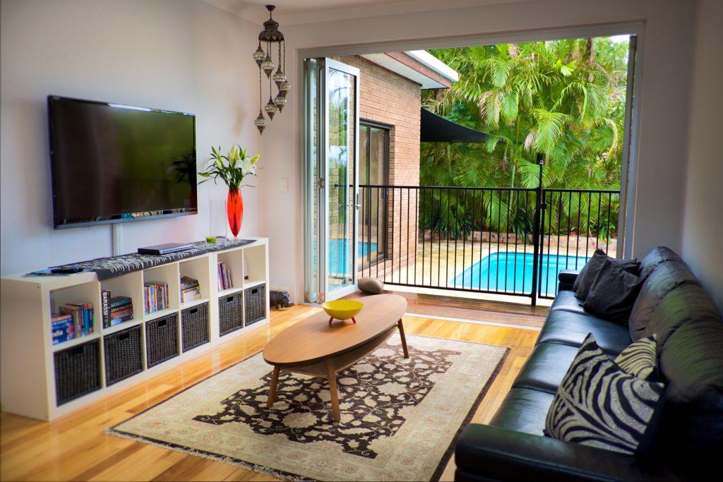 Swanbourne Colonial Bushland Retreat sitting room