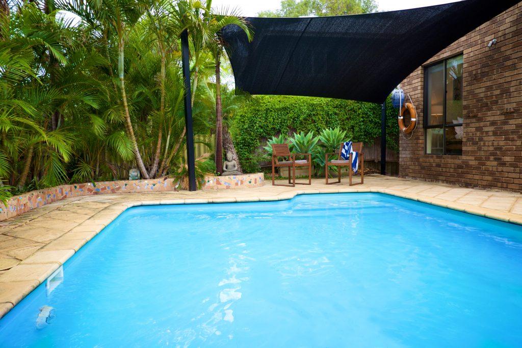 Swanbourne Colonial Bushland Retreat pool