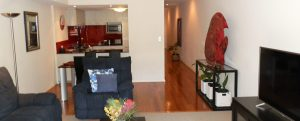 Living room NUmero Siete de Bannister Fremantle accommodation
