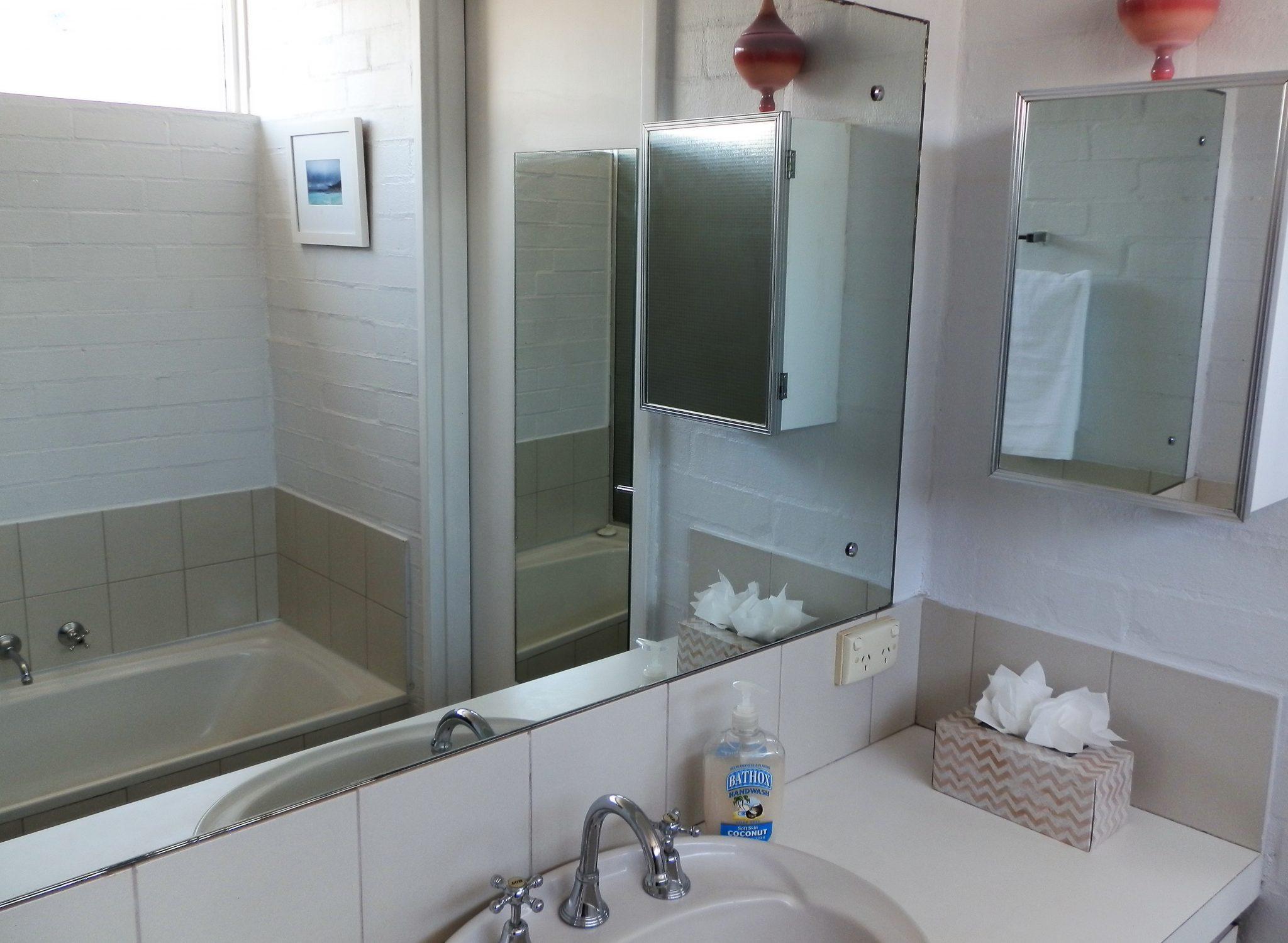 Bathroom at Suffolk street Villa Fremantle