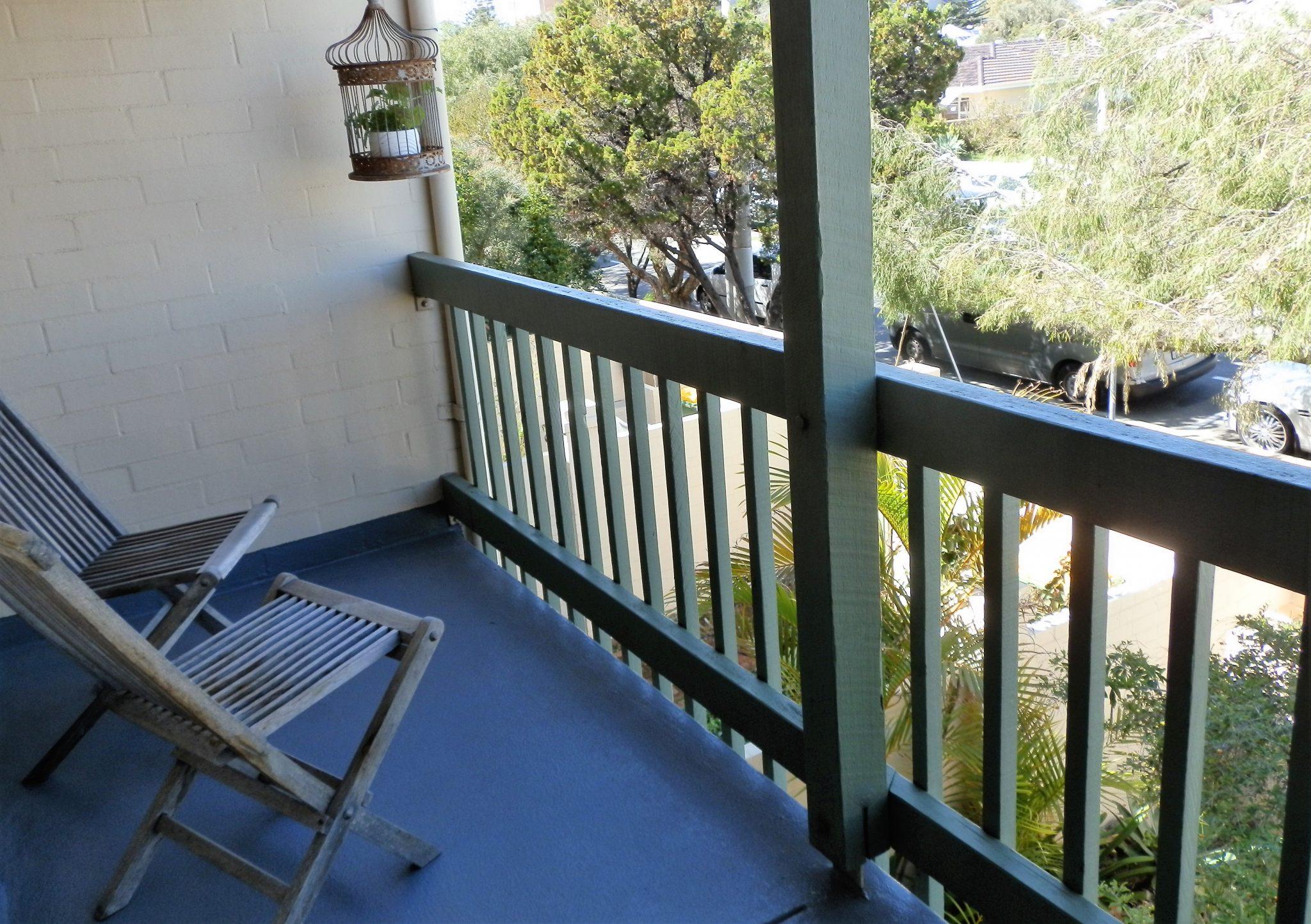 balcony Suffolk street Villa Fremantle