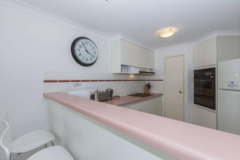 Cottesloe Cove Beach apartment kitchen