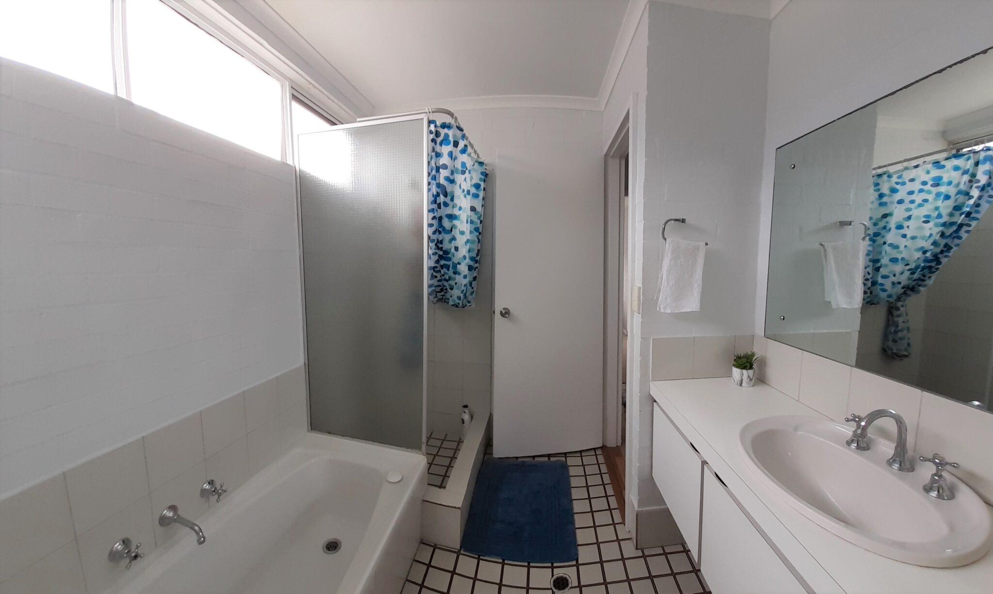 Bathroom in the Suffolk street Villa