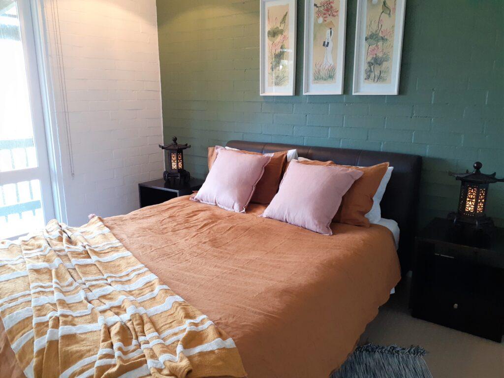 Suffolk Villa master bedroom detail