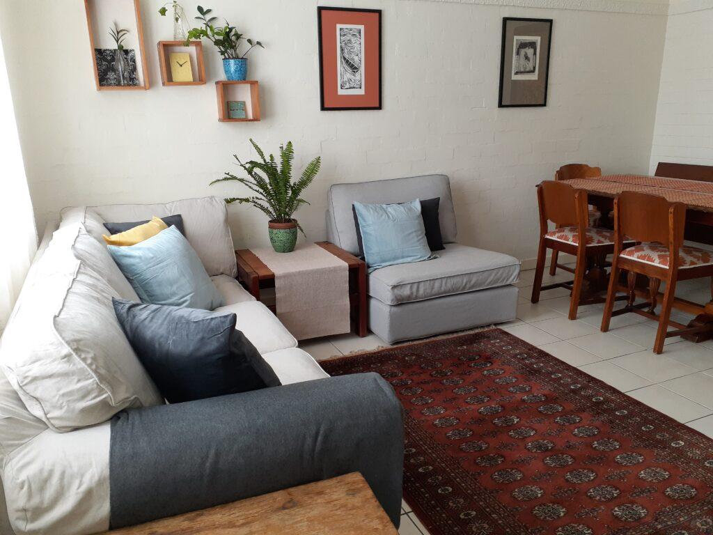 The Salon at Sevenoaks living room detail