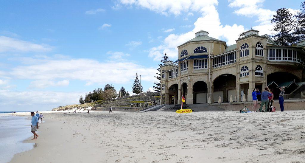 Indiana restaurant on Cottesloe beach