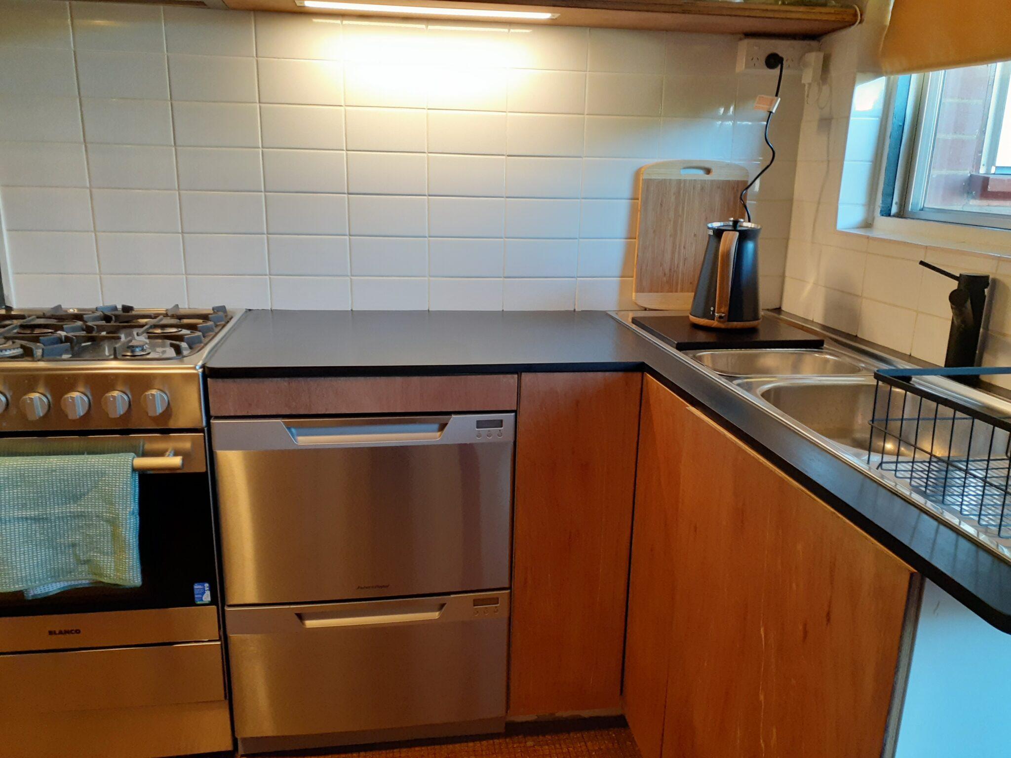 double drawer dishwasher in the Salon at Sevenoaks