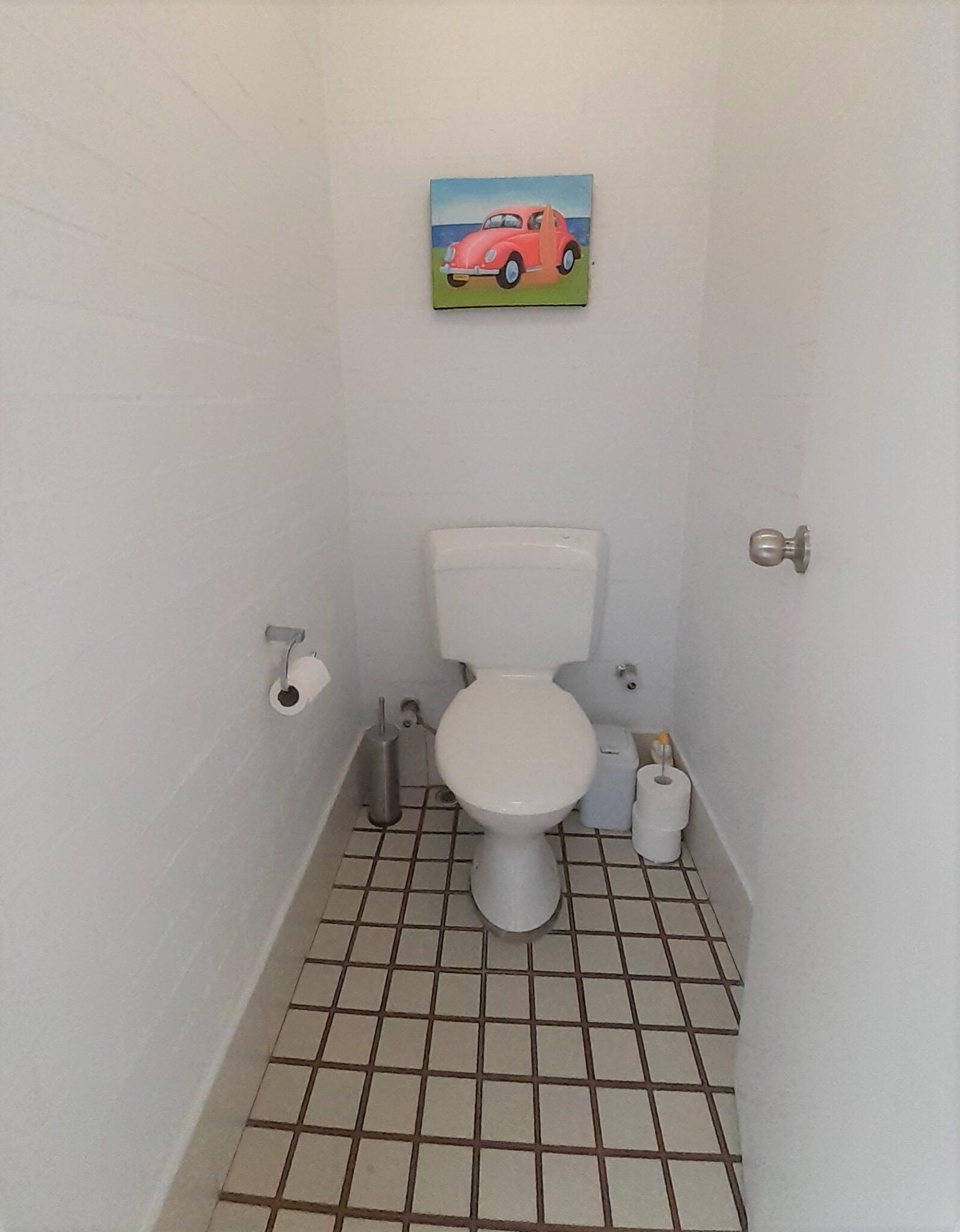 Separate toilet in Suffolk street villa